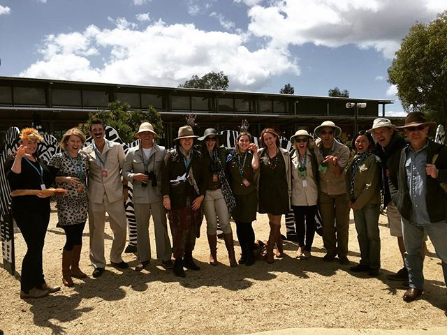 Team @nationpartners on African safari at