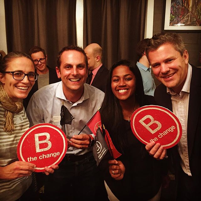 It was great meeting new people and hearing the latest B Corp news at the tonight. We are proud to be a Certified B Corporation.  B Corps are better companies – better for workers, better for communities and better for the environment