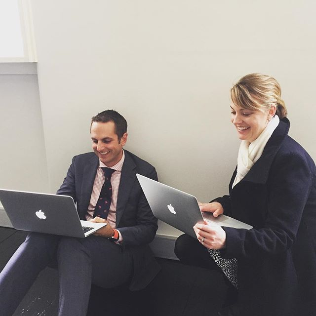 First pic from our new Melbourne office!