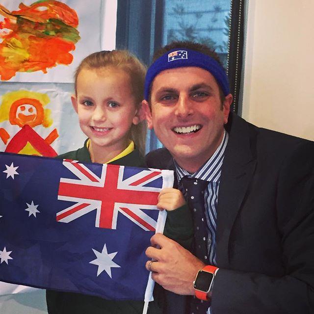Team Nation Partners getting behind Team Australia. Go Aussies! ⛹