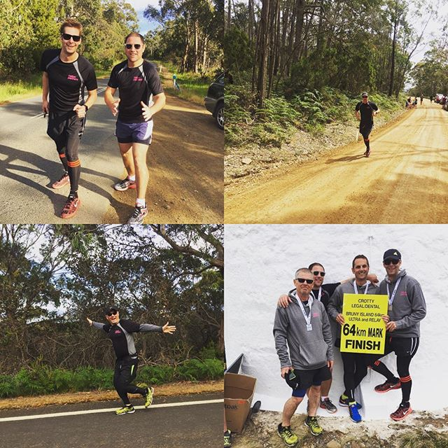Congrats Matt, Patrick, Rob and Rob! Getting it done for team Nation Partners at the recent Bruny Island Ultra Marathon. 🏻🏻🏻🏻 64km in 5.5 hours