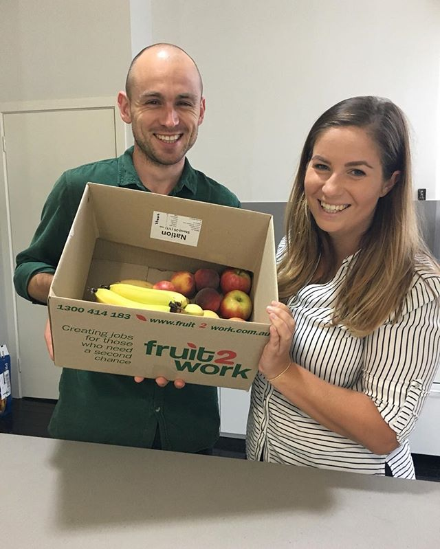 Many of us at the NPHQ are doing the @febfastaus and taking a pause for a cause. Some are giving up alcohol, sugar or both!! 🥂For those of us who have given up sugar for the month of we're fighting the 3pm cookie-cravings with fresh, wholesome, natural fruits from @fruit2work  * * Fruit2work is a fantastic as it is dedicated to creating jobs for former offenders who find it extremely difficult to find and keep work after being released from prison. Fruit2work allows flexibility for their employees to attend parole meetings, whilst also providing mentoring and counselling to ensure they are successful in their work and comfortably reintegrate into the community * * 🏼