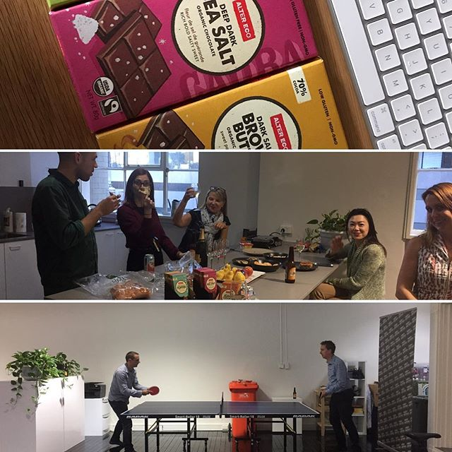 It's been a busy week in the lead up to Easter weekend! We started the long weekend with some chocolate from @alterecopacific and @stoneandwood beer at the office
