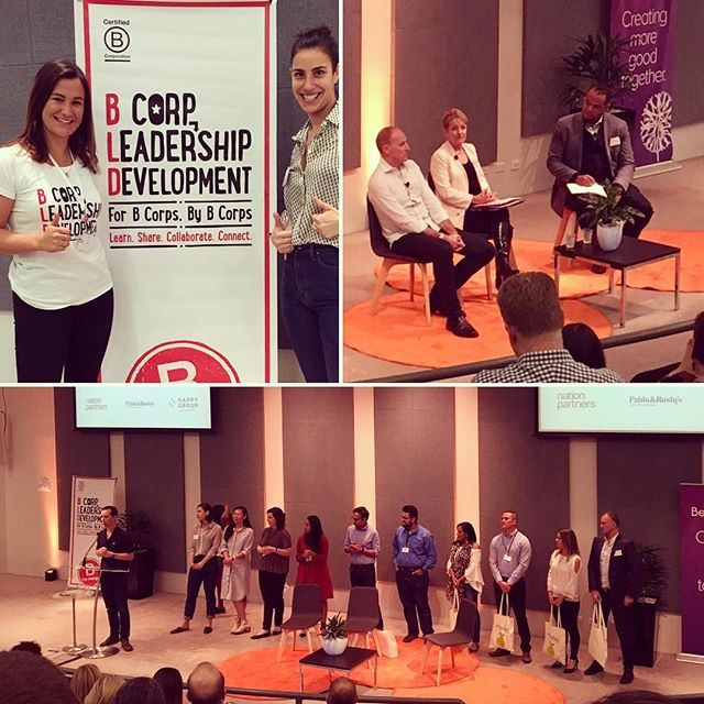 Nation Partners was honoured to both attend and support B Lab and fellow B Corps last month at BLD17, the leadership development conference for B Corps by B Corps. Highlights of the day included keynote speakers, Vincent Stanley of Patagonia and Audette Exel of Adara Group, and of course, sharing and learning from fellow B Corps. For the second year running, Nation Partners was honoured in the @B Corp awards, placing us in the top ten per cent of all B Corps globally for the category of worker impact.
