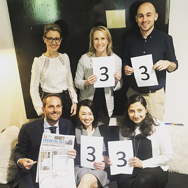 Proof that you can grow a business while having a social conscience, Nation Partners has ranked number 33 of 100, in the @financialreview Fast Starters list for 2017. This comes on top of being recognised internationally in the 2017 @bcorporation 'Best for the World' awards for our commitment to our workers. We are proud to be 33 on the fast starters list, but even prouder to have done it while donating at least four per cent of our profits towards social and environmental causes. Thanks to all our clients and partners for your valuable support! We are truly grateful.