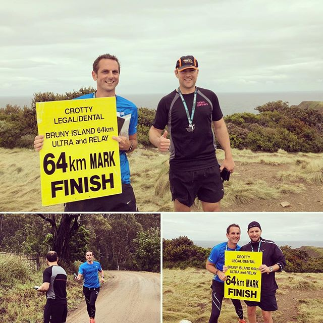 Lead from the front  Nice work from the chief, Matt Nation and team, for competing in the Bruny Island Ultra Marathon in wet conditions this weekend. Top effort! 🏻