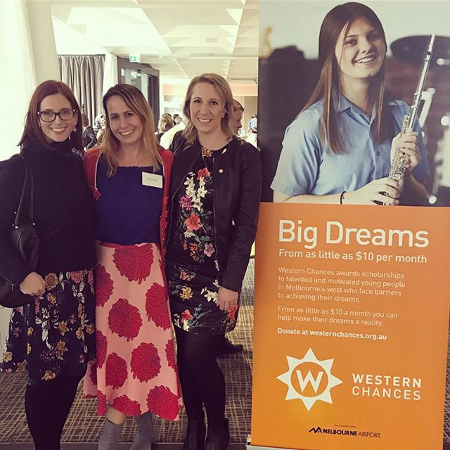 We're so proud to support @western_chances as one of our charities of choice. We've been inspired beyond belief today at the annual by some big dreamers and their supporters