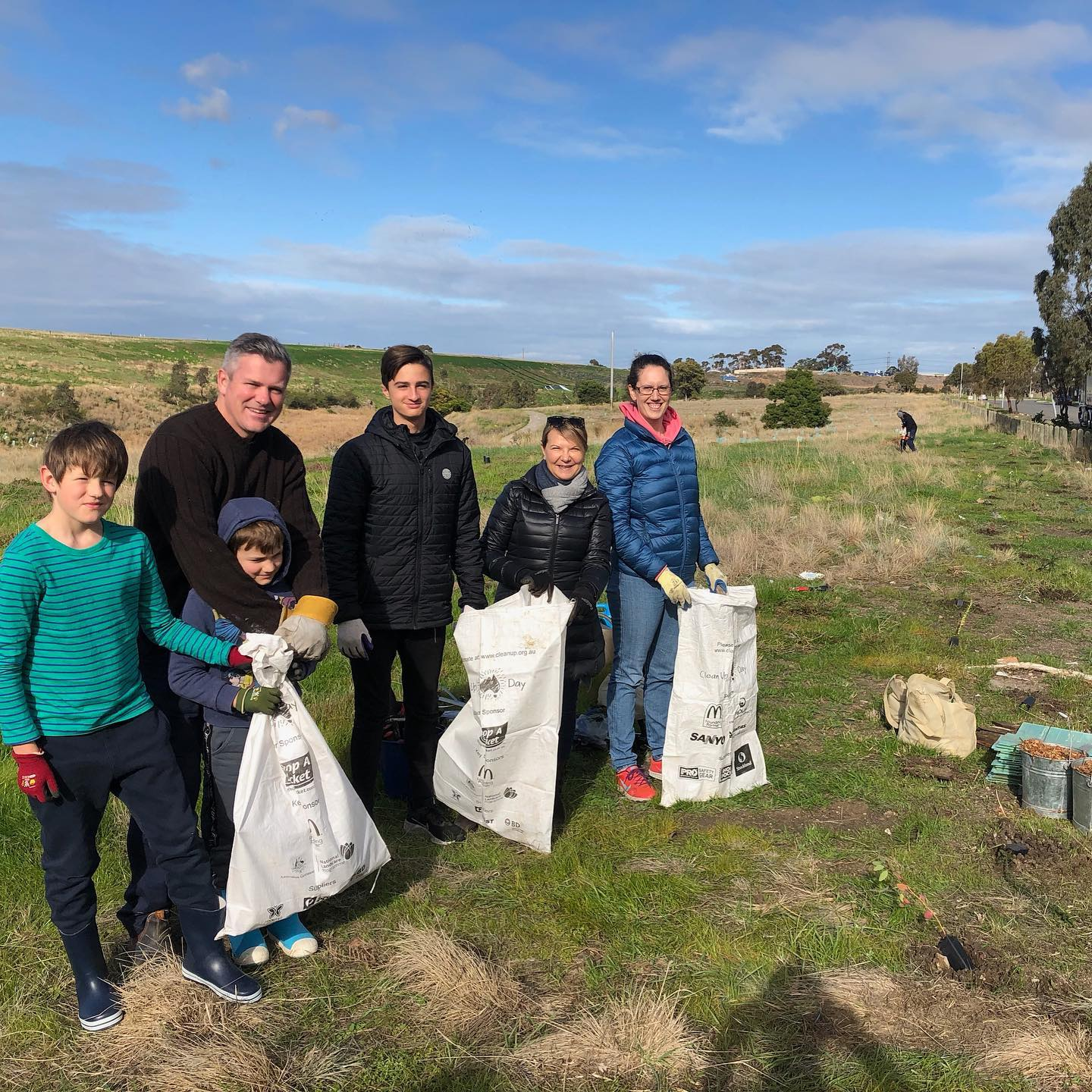 What a crew  Thanks to our team of legends who came and made a difference to the world at our first ever tree planting day yesterday. We are proud to support our people with 20 hours of paid volunteer leave each year for causes that contribute to a better future  Thanks also to @melbournewater and The Friends of Kororoit Creek for supporting and guiding us. Job well done team!!