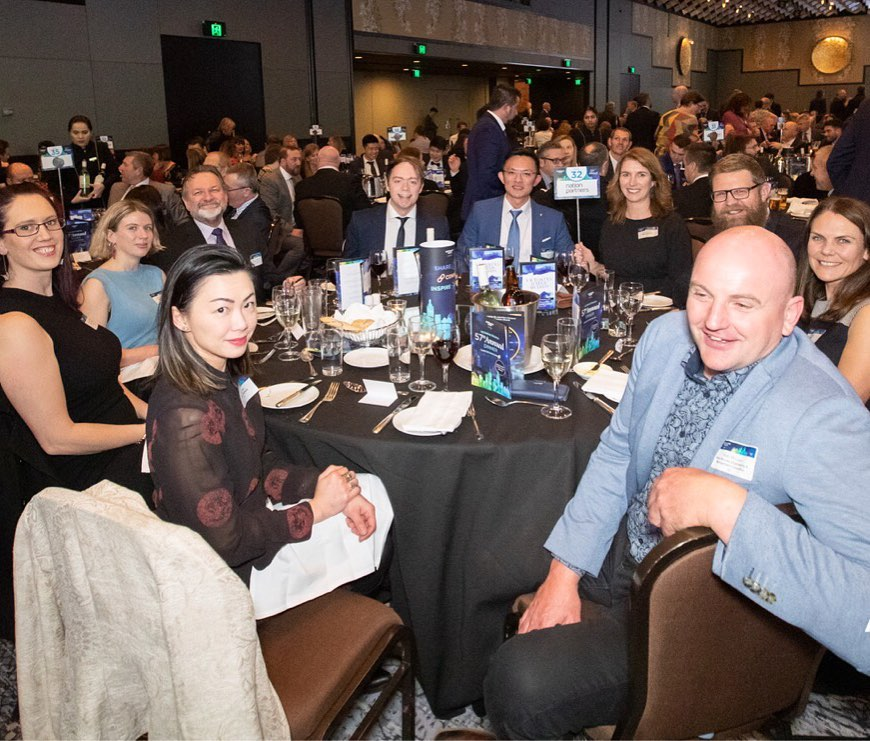 Great to catch up with our water industry colleagues and celebrate their incredible contributions to Victoria's water sector, at the 57th Annual AWA Victorian Branch Dinner.