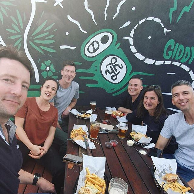 Today is R U OK Day, an important reminder to check in with your colleagues, friends and family members to see how they are going in life. Our Sydney crew got the conversation started over a burger lunch today. You don't have to be an expert to support someone going through a tough time – just listen without judgement, and take the time to follow up with them.  Having a conversation that could change a life is as simple as these four steps:  1. Ask R U OK? 2. Listen 3. Encourage action 4. Check in