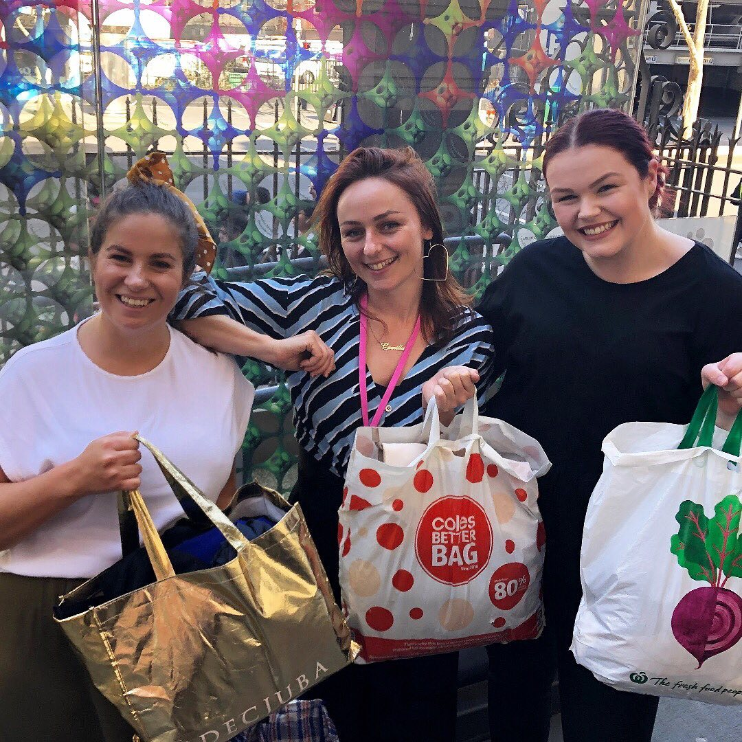 We are always looking for ways to support hard-working social enterprises and not-for-profit organisations. For the past few months, the ladies at Nation Partners have been cleaning out their wardrobes and collecting pre-loved workwear to donate to @fittedforwork.  Today we dropped off bags of work-ready clothes to Fitted for Work so that they can give women experiencing disadvantage an outfit to help them secure employment. FFW also offers other employment services to help women build their skills and develop confidence when returning to work.